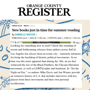 Set the Night on Fire Orange County Register.
