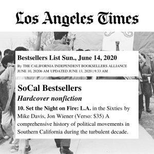 Los Angeles Times Bestsellers List — June 14, 2020