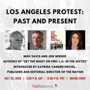 07/20/2020 — Los Angeles Protest: Past and Present