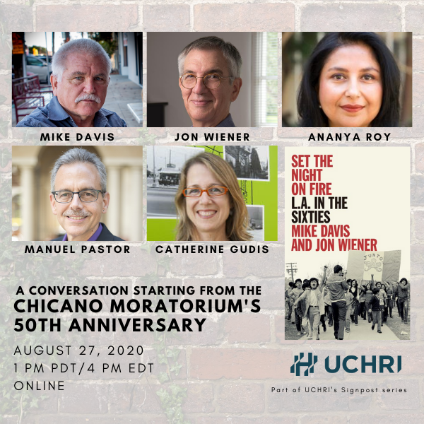 Jon Wiener event with UCHRI
