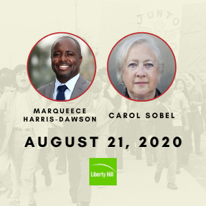 08/21/2020— Jon Wiener in Conversation with Marqueece Harris-Dawson and Carol Sobel