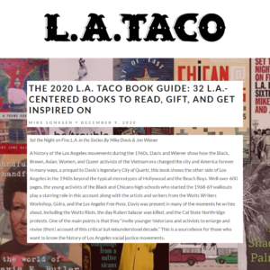 The 2020 L.A. Taco Book Guide: 32 L.A.-Centered Books to Read, Gift, and Get Inspired on