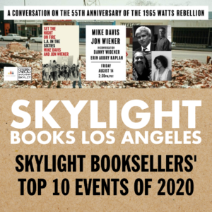Skylight Bookseller's Top 10 Events of 2020